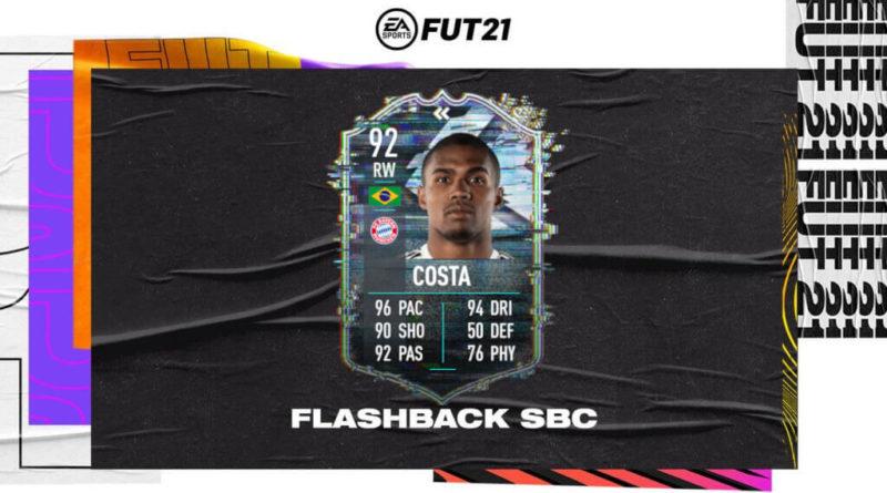 FIFA 21: SCR Douglas Costa flashback