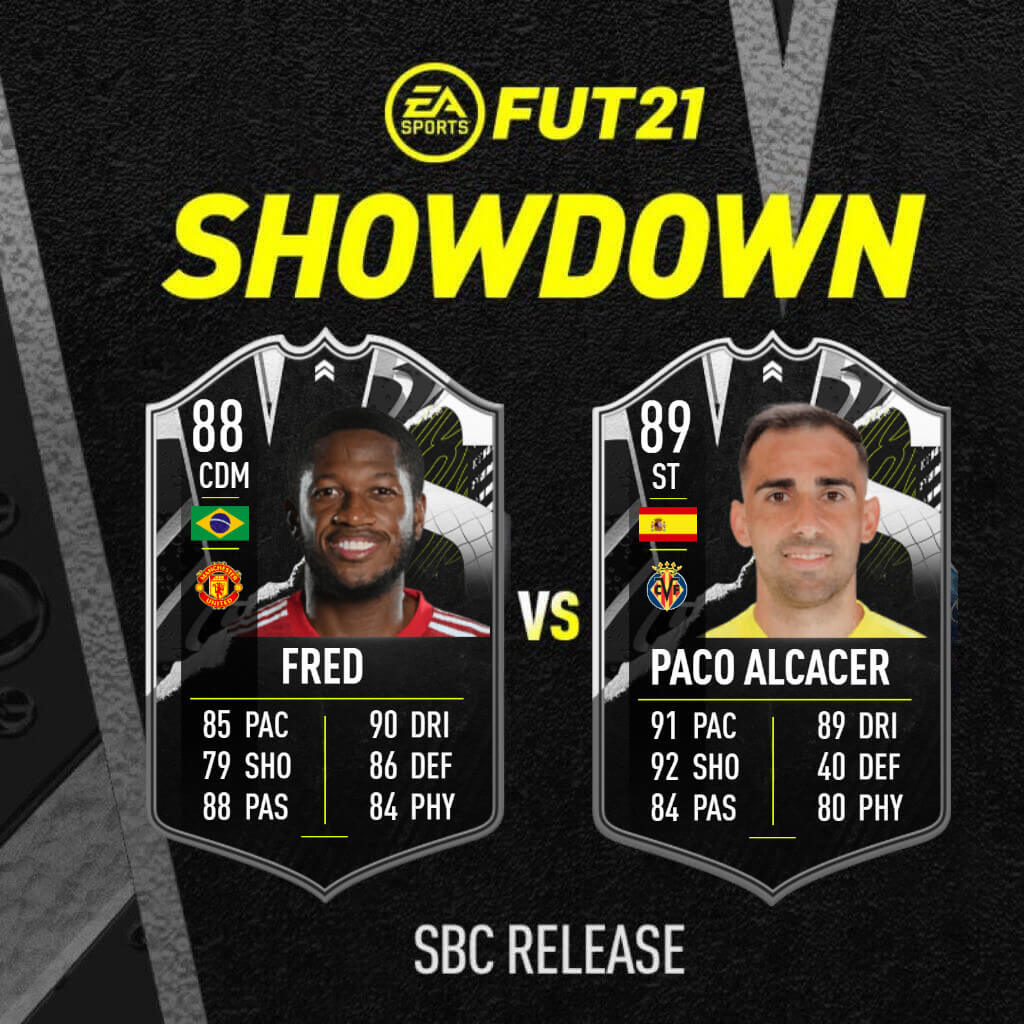 FIFA 21: Fred Vs Alcacer showdown SBC