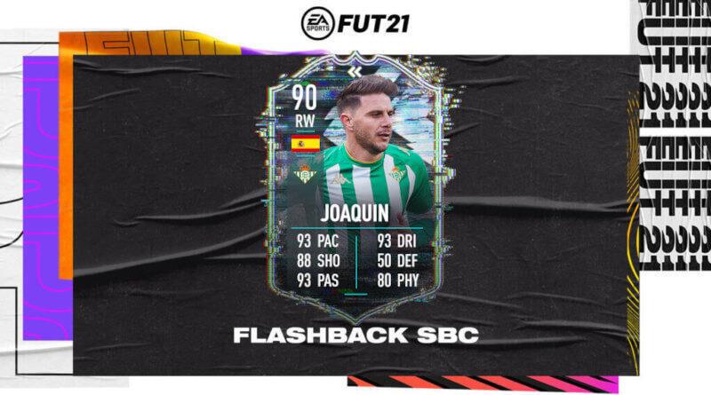 FIFA 21: Joaquin TOTS LaLiga flashback SBC