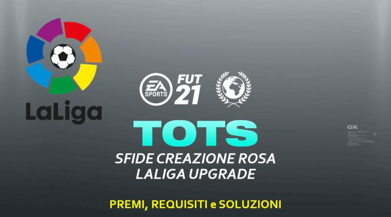 FIFA 21: SCR aggiornamento LaLiga Santander TOTS