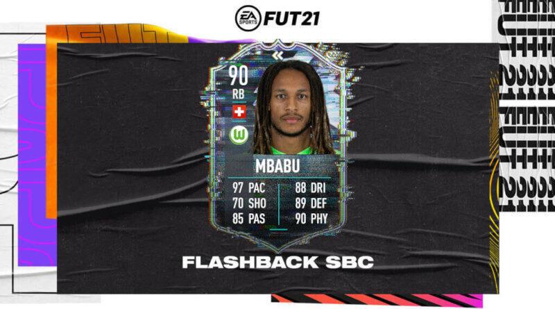 FIFA 21: Mbabu flashback TOTS SBC