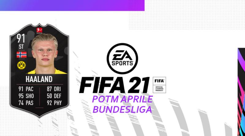 FIFA 21: SCR Erling Haaland Bundesliga POTM