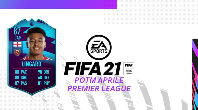 FIFA 21: Lingard 87 POTM SBC