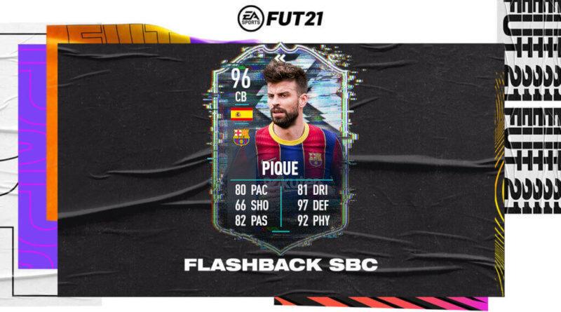 FIFA 21: Pique flashback SBC