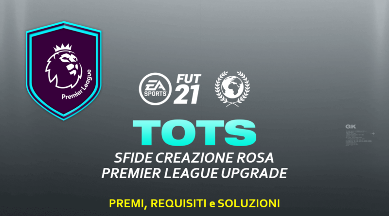 FIFA 21: SCR aggiornamento Premier League TOTS