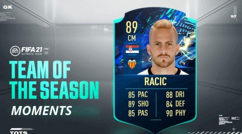 FIFA 21: Racic TOTS Moments SBC