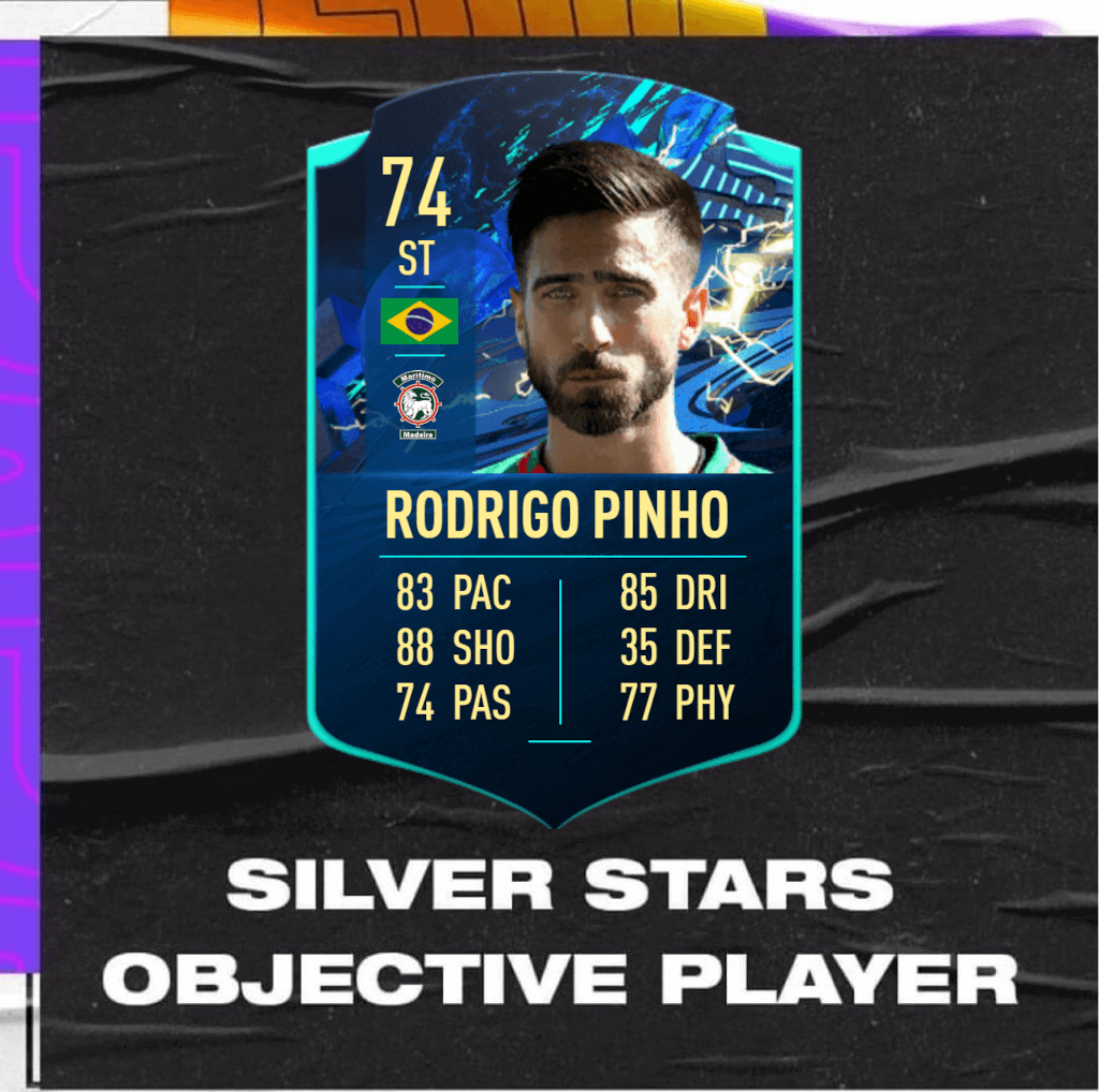 FIFA 21: Rodrigo Pinho TOTS Moments Silver Stars TOTW 34