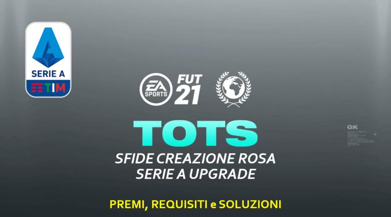 FIFA 21: SCR aggiornamento Serie A Tim TOTS