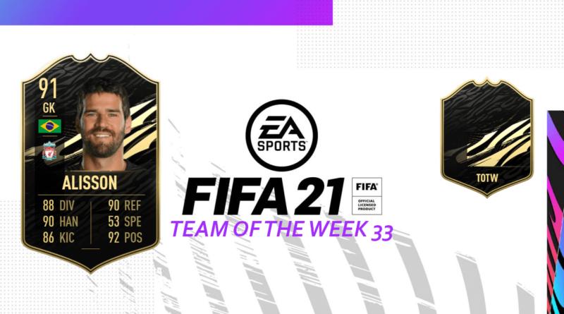 FIFA 21: Team of the Week 33