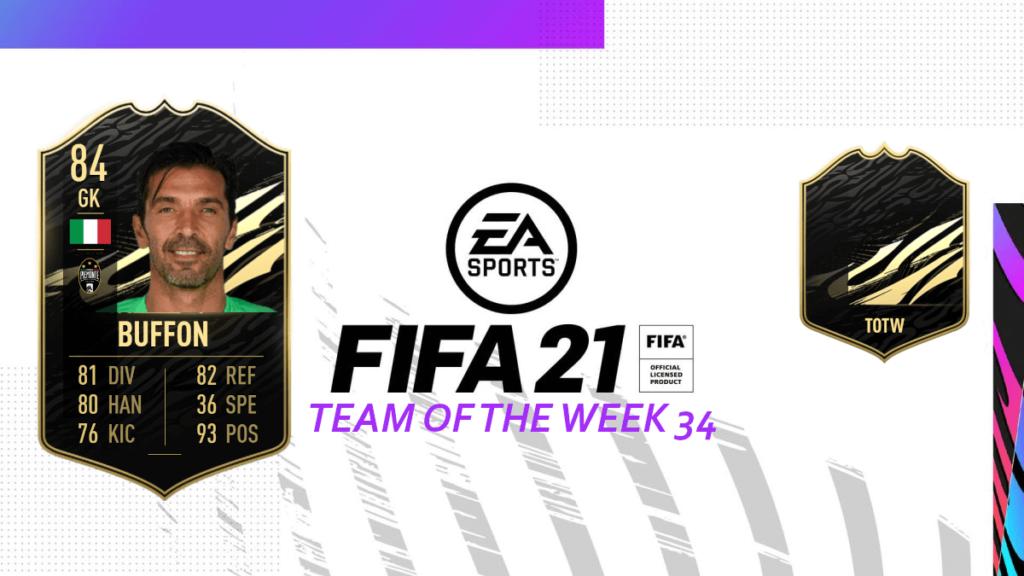 FIFA 21: Team of the Week 34