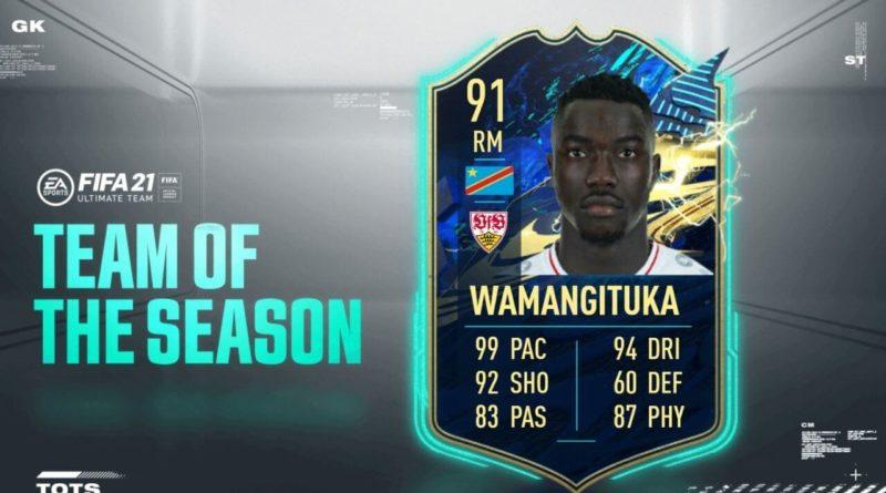FIFA 21: Wamangituka TOTS SBC