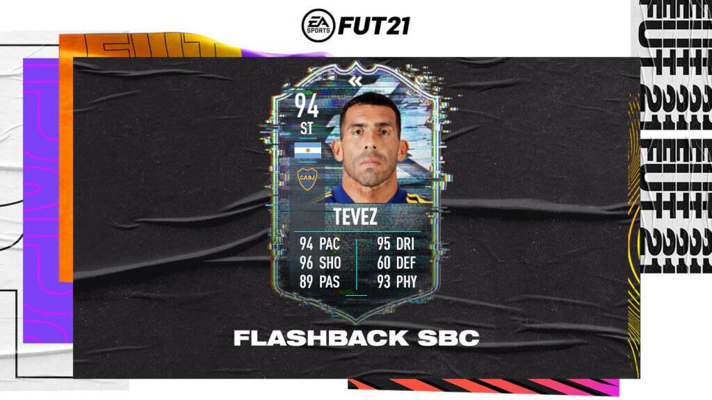 FIFA 21: Carlos Tevez flashback Libertadores SBC