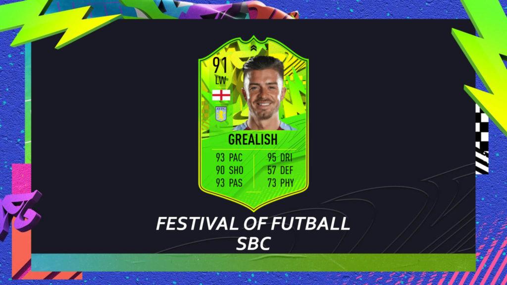FIFA 21: Grealish Path to Glory SBC