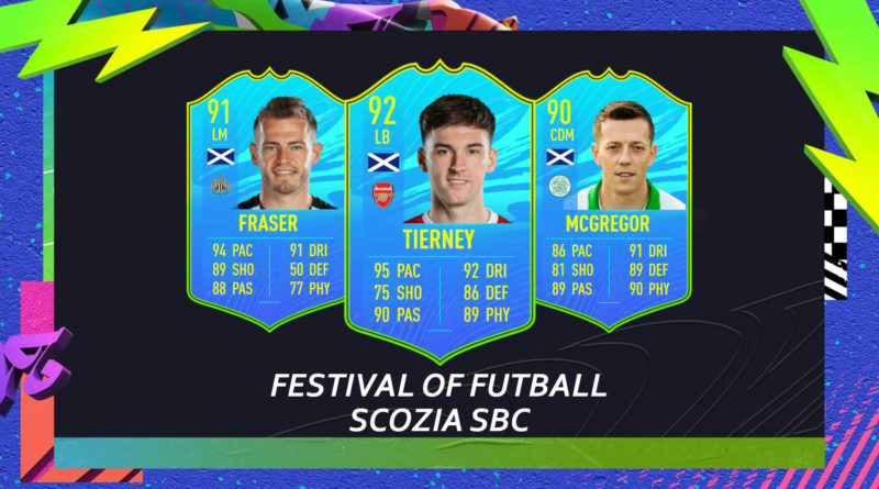 FIFA 21: Scotland players Festival of FUTball SBC