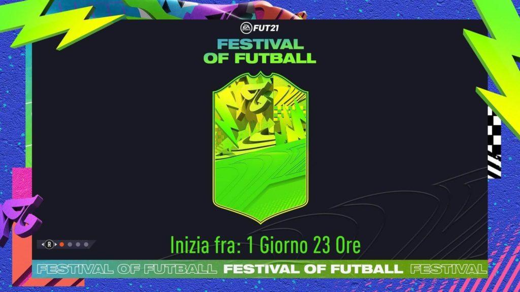 FIFA 21: Festival of FUTball official card design