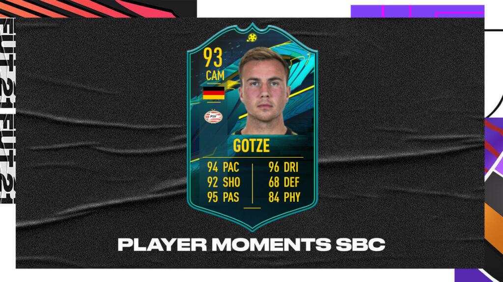 FIFA 21: Gotze player moments SBC