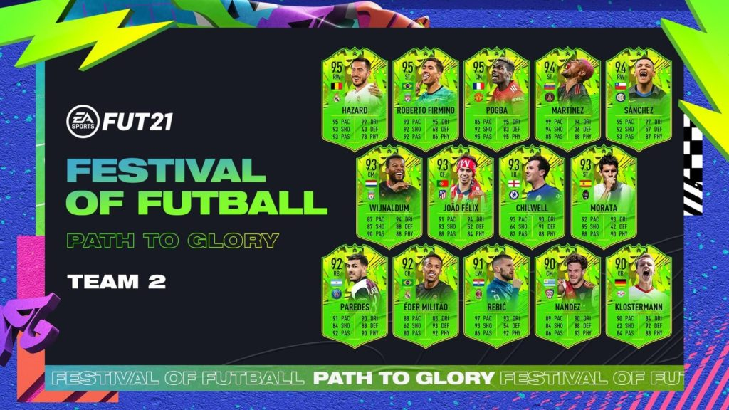 FIFA 21: Path to Glory team 2