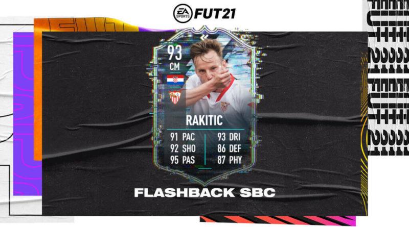 FIFA 21: Ivan Rakitic flashback SBC