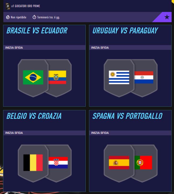 FIFA 21: SCR incontri principali del 3 giugno