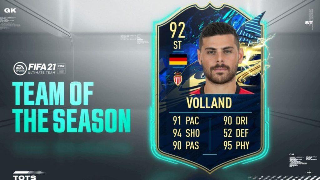 FIFA 21: Volland TOTS SBC