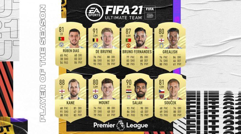 FIFA 21: candidati POTS Premier League