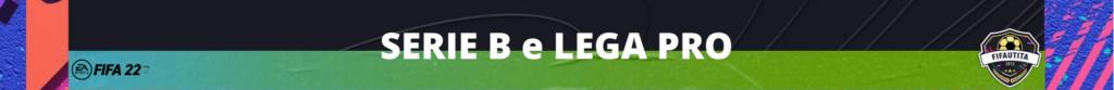 FIFA 22: licenza Serie B e Lega PRO