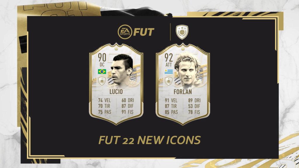 FIFA 22: Lucio e Forlan new icons