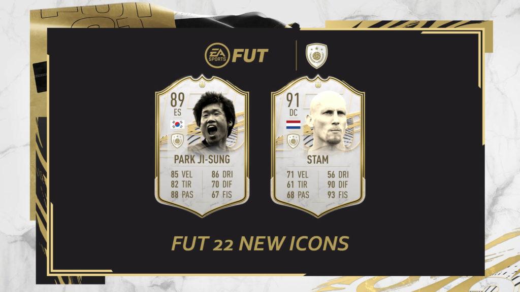 FIFA 22: Park Ji-Sung e Stam new icons