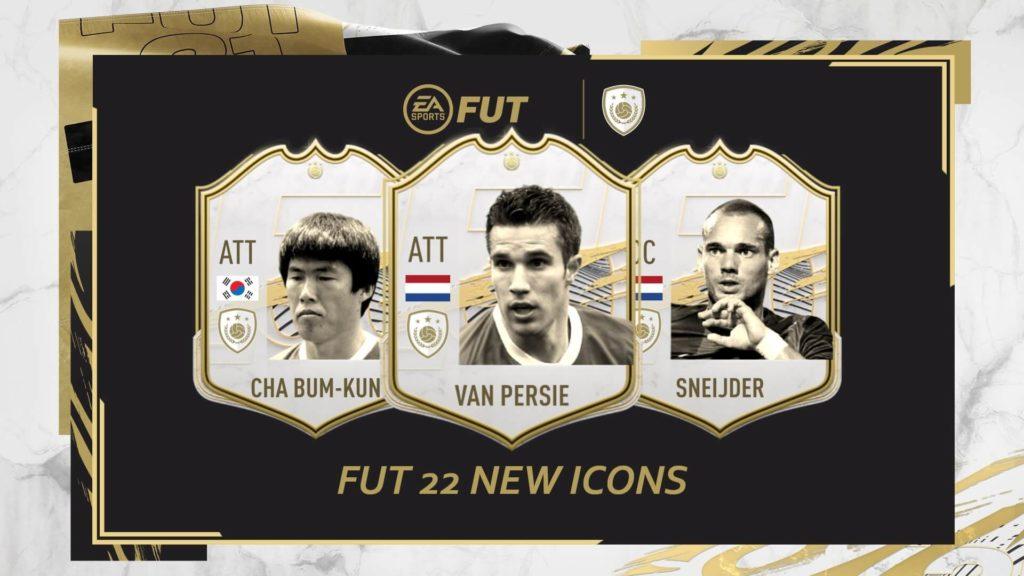 FIFA 22: Van Persie, Sneijder e Cha Bum-Kun nuove icon