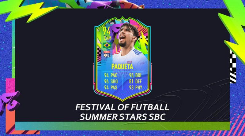 FIFA 21: Paqueta Summer Stars SBC
