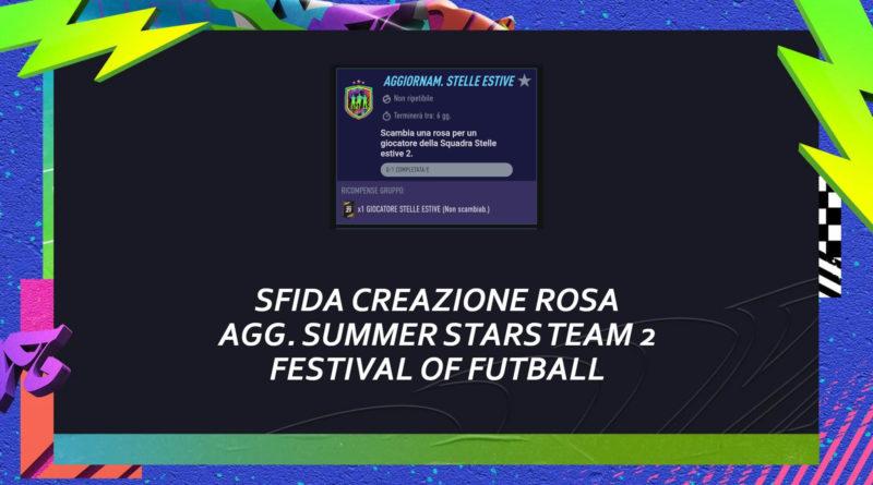 FIFA 21: sfida creazione rosa Summer Stars garantito team 2