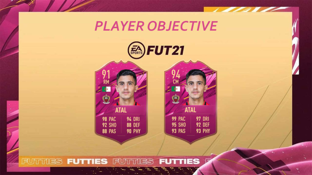 FIFA 21: Atal Futties player objective