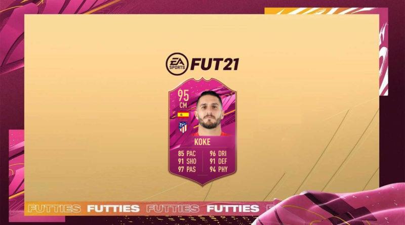 FIFA 21: Koke Futties SBC