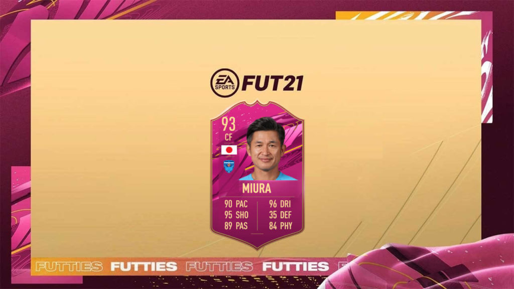 FIFA 21: Miura Futties SBC