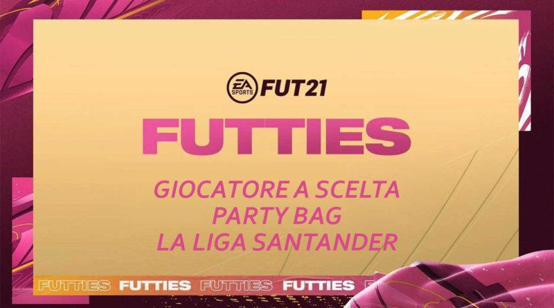 FIFA 21: SCR giocatore a scelta Party Bag LaLiga Futties