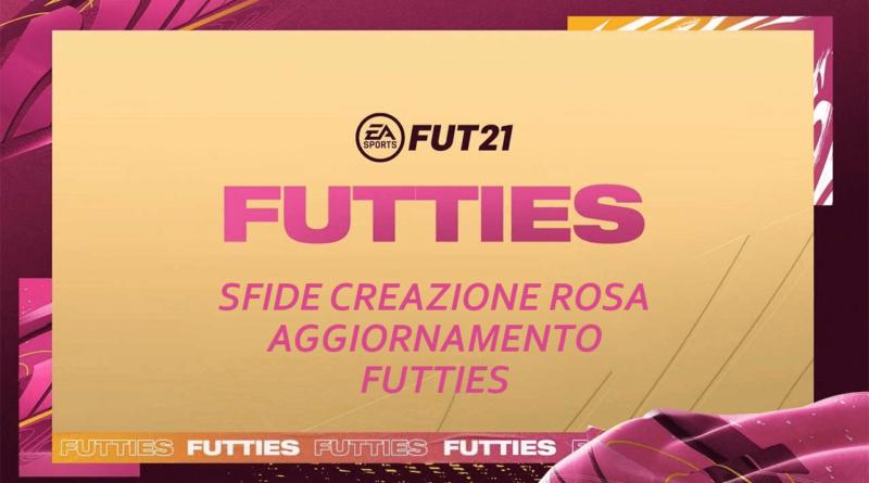 FIFA 21: sfide creazione aggiornamento campionati Futties
