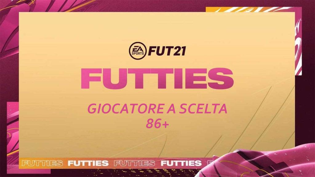 FIFA 21 Futties: SCR giocatore a scelta 86+