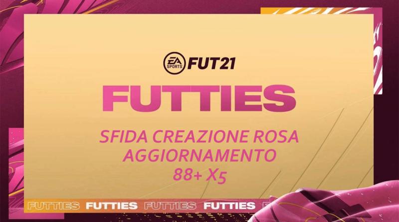 FIFA 21: SCR aggiornamento 88+ X5 Futties