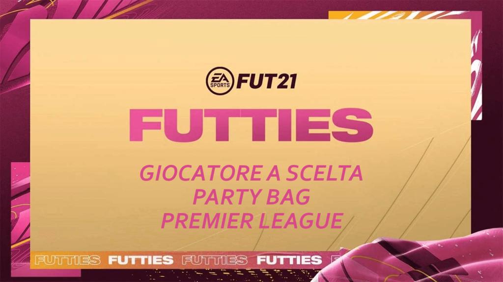 FIFA 21: SCR giocatore a scelta Party Bag Premier League Futties