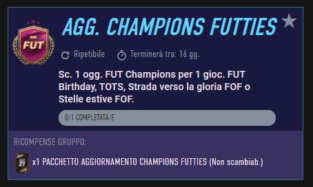 FIFA 21: SCR aggiornamento Champions Futties