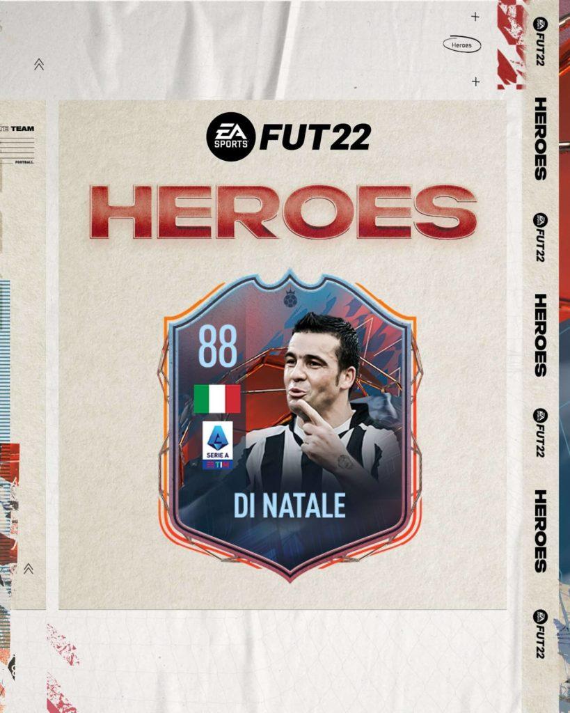 FIFA 22: Di Natale Eroi FUT