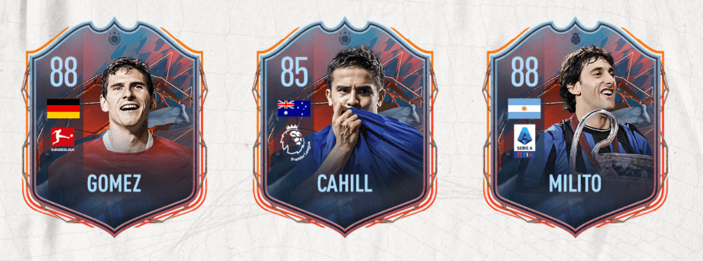 FIFA 22: Mario Gomez, Tim Cahill e Diego Milito Eroi FUT Club Heroes