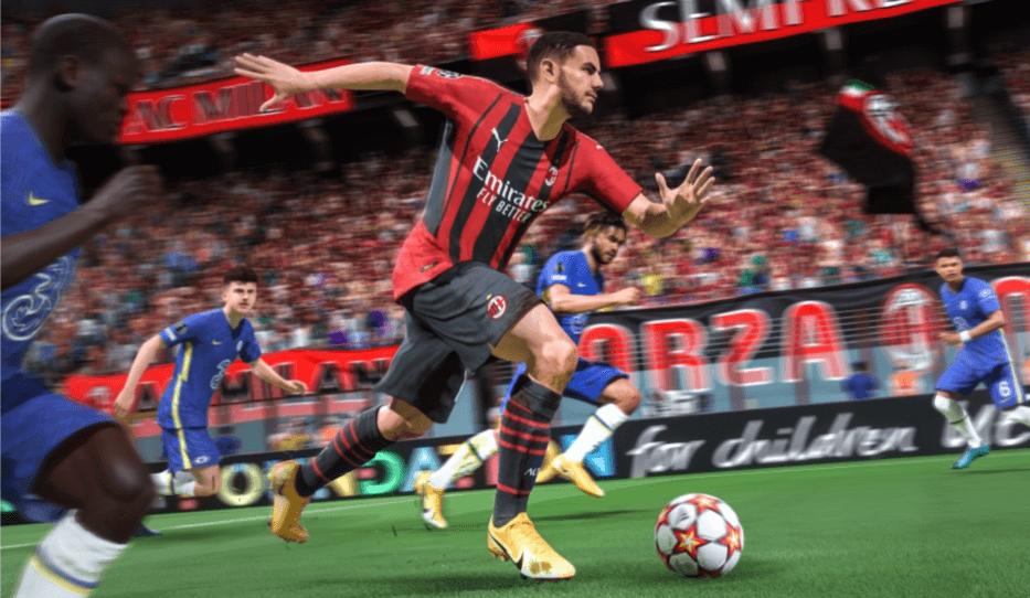 FIFA 22 HyperMotion: controllo palla migliorato