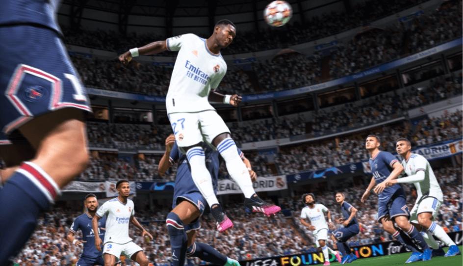 FIFA 22: duelli aerei cinetici