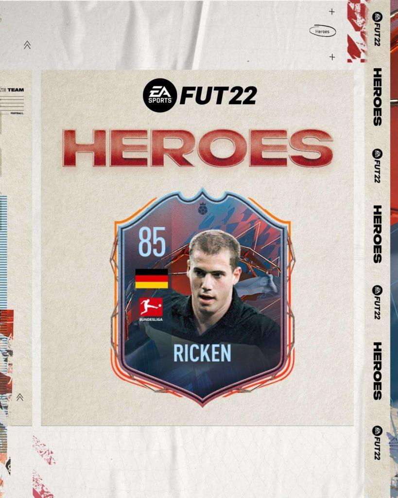 FIFA 22: Lars Ricken Eroi FUT