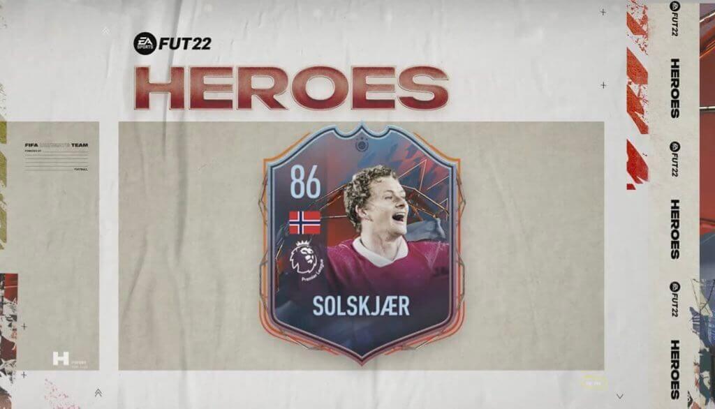 FIFA 22: Solskjaer Eroi FUT