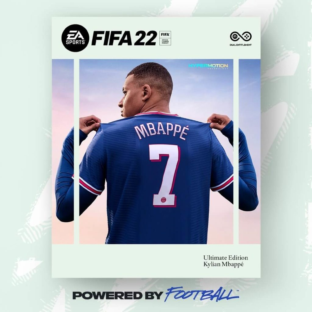 FIFA 22: Mbappé cover ufficiale