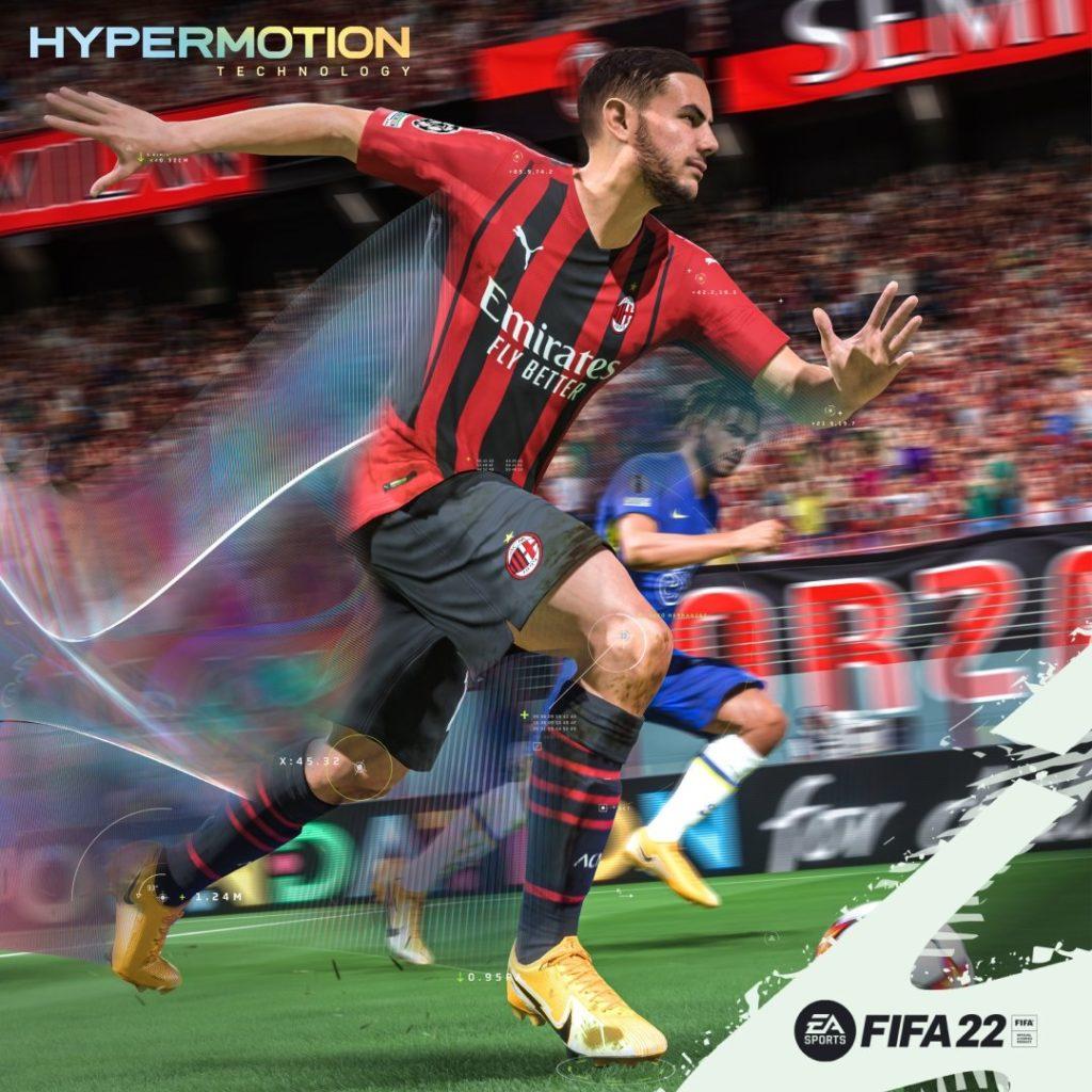 FIFA 22: Theo Hernandez su FIFA 22