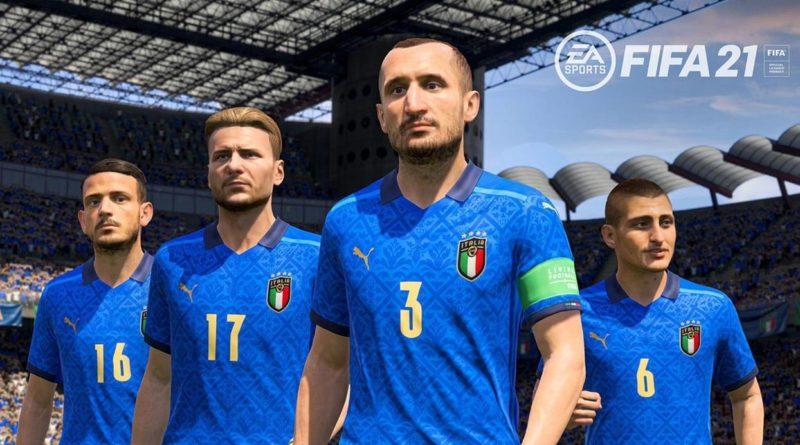 FIFA 21: la nazionale italiana