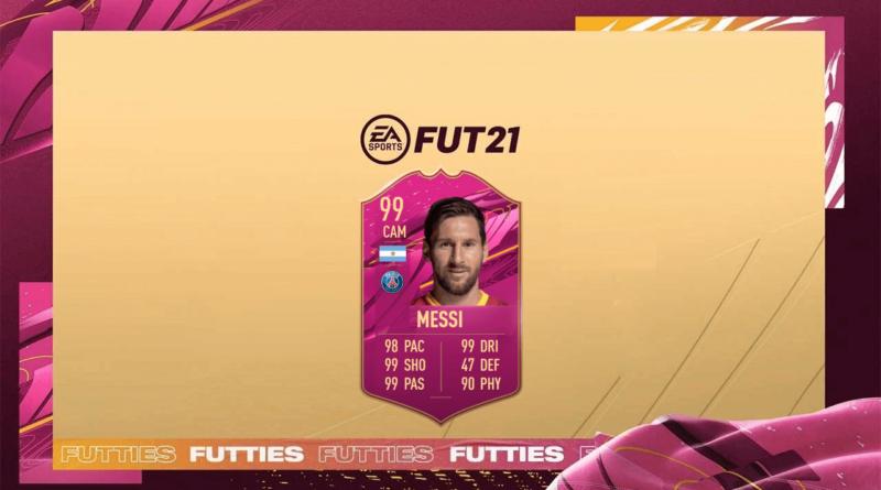 FIFA 21: Lionel Messi PSG 99 Futties SBC